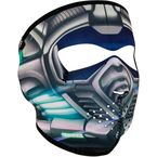 Titanium Neoprene Full Face Mask - WNFM180