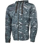 Blue/Camo Go For Broke 2.0 Hoody - V#1106-0407-8054