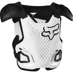 Youth White R3 Roost Deflector - 24811-008-OS