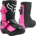 Kids Black/Pink Comp K Boots - 24015-285-10