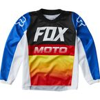 Kids Blue/Red 180 Fyce Jersey - 24584-149-KM