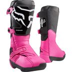 Women's Black/Pink Comp Boots - 24013-285-11