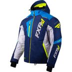 Navy/Light Gray/Blue/Hi-Vis Mission FX Jacket - 200031-4505-13