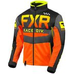 Hi-Vis/Black/Orange/Gray Cold Cross RR Jacket - 200032-6510-10