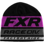 Black/Electric Pink Race Division Beanie - 201625-1094-00
