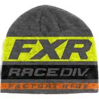 Gray Heather/Orange Race Division Beanie - 201625-0730-00