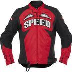 Red/Black Insurgent Leather/Textile Jacket - 1101-0227-0954