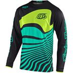 Black/Turquoise Drift GP Air Jersey - 304780013