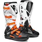 Flo Orange/Black/White Crossfire 3 SRS Boots - SID-C3S-FOBW-44