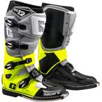 Gray/Fluorescent Yellow/Black SG-12 Boots - 2174-079-10