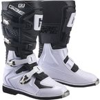 Youth Black/White GX-J Boots - 2169-004-01