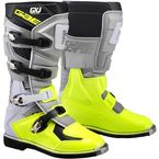 Youth Gray/Fluorescent Yellow GX-J Boots - 2169-009-01