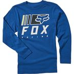 Youth Royal Blue Overkill Long Sleeve Shirt - 25905-159-YL