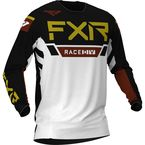 White/Black/Rust/Gold Helium LE MX Jersey - 203349-0110-13