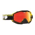 Masked Yellow Klutch Goggle w/Smoke/Red Spectra Lens - 322017716856