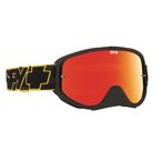 Yellow Highlighter Woot Race Goggle w/Smoke/Red Spectra Lens - 323346889856