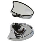 Chrome Fairing Mirror Set - 34-1224