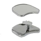 Chrome Fairing Mirror Set - 34-8218