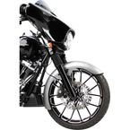 21 in. Real Steel Rapper Front Fender - 06-736