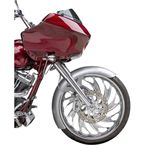 23 in. Real Steel Rapper Front Fender - 06-738