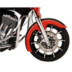 Hugger Series Slicer Front Fender for 16/17/18.19 in. Wheel - 1402-0391