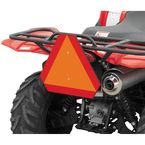 Orange ATV Safety Emblem - 2350QB