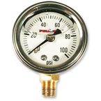 Oil Pressure Gauge w/White Face - 9040