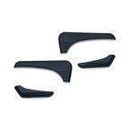 Gloss Black Tri-Line Accents for Glove Box  - 6919