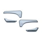 Chrome Tri-Line Accents for Glove Box  - 6924