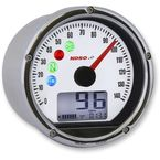Chrome TNT-01S-Speedometer w/White Face - BA035150-HD