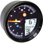 TNT-04 Multi-Function Meter w/Black Bezel - BA051411