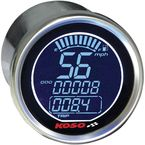 Chrome DL Style Electronic Speedometer - BA552B70-HD