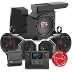 Bluetooth Radio/Subwoofer/Speaker Pod System - RZRSYSTEM3