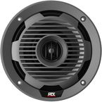 Black 6.5 in. Coaxial Marine Speakers - WET65-C