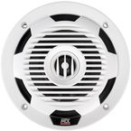 White 6.5 in. Coaxial Marine Speakers - WET65-W