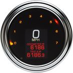4.5 in. Chrome MLX-2000 Series Speedometer - MLX-2000