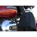 Black Barrel Upper Fairing Glove Box Lock Door - GL-2B