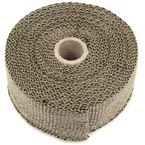 Copper Fiberglass Exhaust Wrap - 48-0139