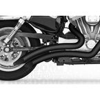 Black Ceramic Sharp Curve Radius Series Exhaust System - MK00002