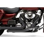 Raven Black Power Port Dual Headpipes - 6252RB