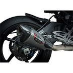 Alpha T Race Series 3/4 in. Works Finish Exhaust System (Stainless/Stainless/Carbon Fiber) - 13100CP520