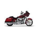 Chrome 4 in. Slip-On Mufflers - 500-0106C