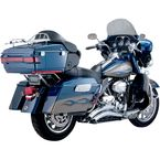 Chrome Big Radius 2-into-2 Exhaust System - 1800-2143