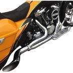 Chrome Destroyer 2-Into-1 Exhaust  - C1700-C
