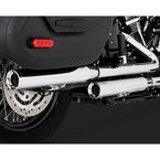 Chrome 3 in. Eliminator 300 Slip-On Mufflers - 16716