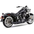 Black El Diablo 2-Into-1 Exhaust System  - 6485B