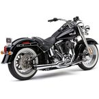 Chrome El Diablo 2-Into-1 Exhaust System  - 6484