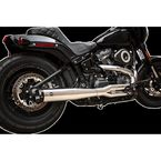 Chrome/Black Superstreet 2-into-1 Exhaust System - 550-0791