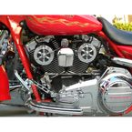 Polished Stainless Cool-Master V-Twin Cooling System - CM-1