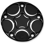 Black Spiro Series 5 Hole Points Cover - SS-PT-B